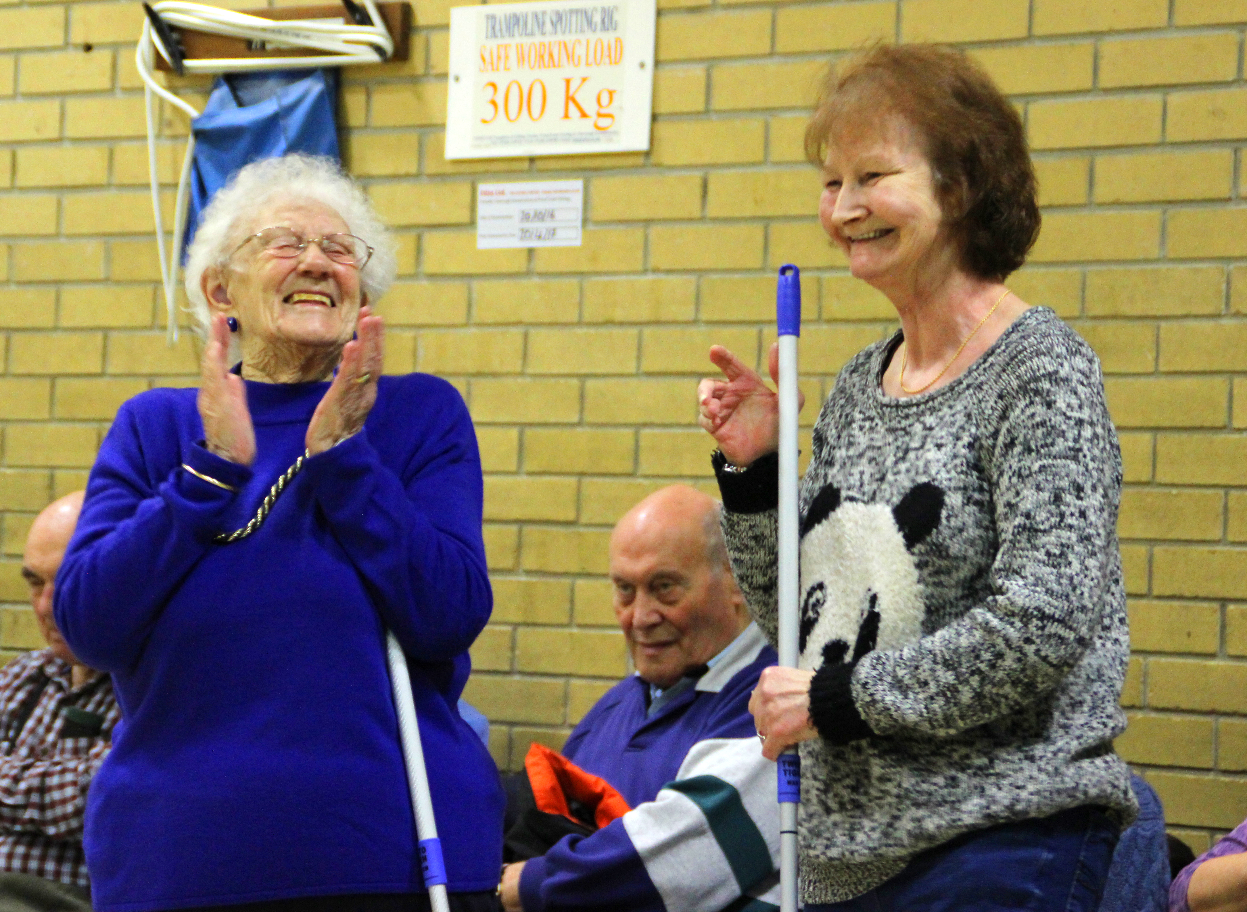 Kurling competitions help to get Ipswich active.