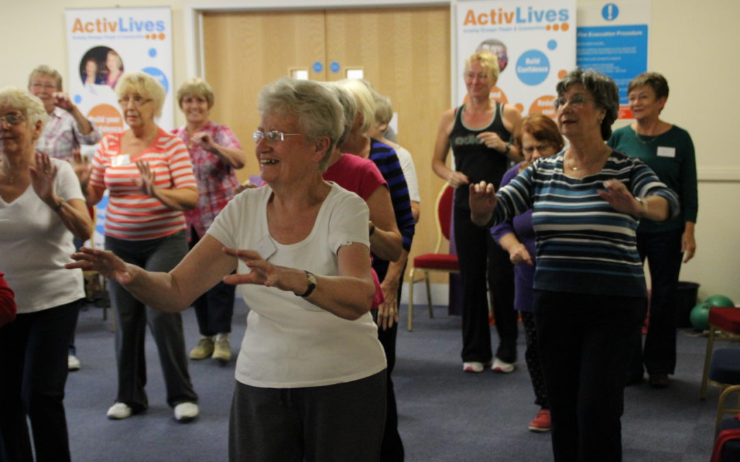 ActivSteps – California Social Club, Ipswich