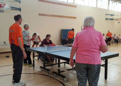 Table tennis with ActivIpswich