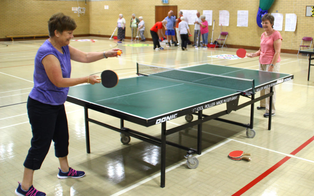Multi-sport (Kurling, Ping Pong and Boccia) – The Meeting Place, Ipswich