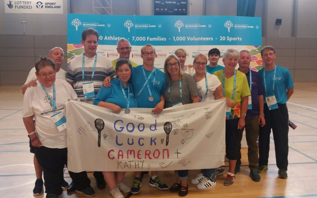 Suffolk badminton players win silver at the Special Olympics