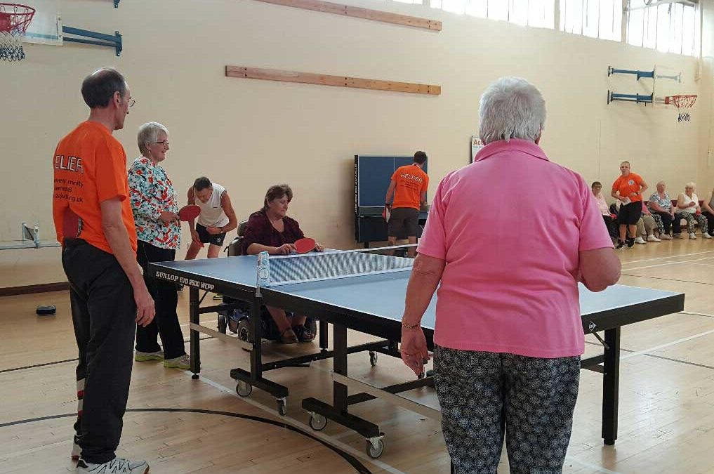Ping Pong and Short Tennis – Gainsborough Sports & Community Centre, Ipswich