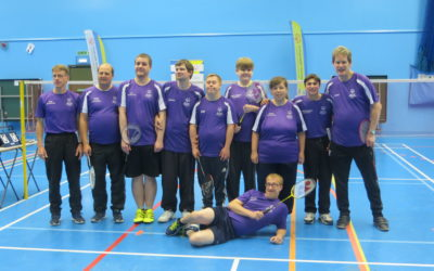 Suffolk Special Olympians amongst the badminton medals in Bournemouth