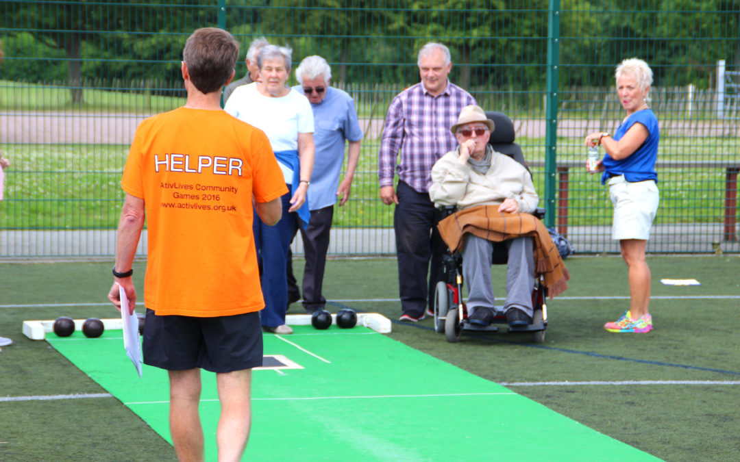 Sport with a difference with ActivLives at the Community Games!
