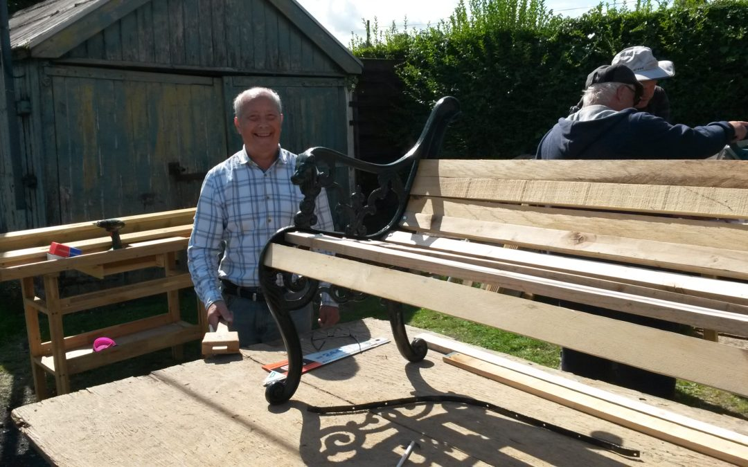 ActivGardens launches its new look men's shed