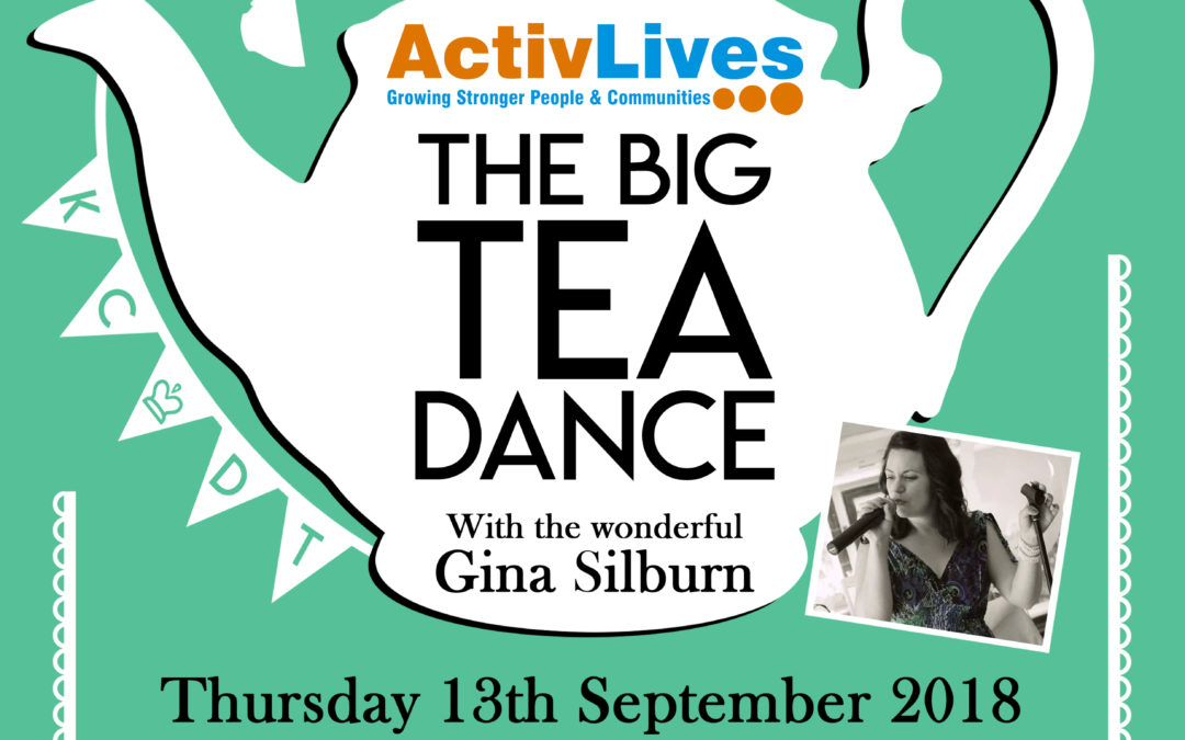It's time put on your dancing shoes with ActivLives at their popular Tea Dances!