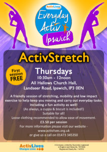 ActivStretch @ All Hallows Church Hall | England | United Kingdom