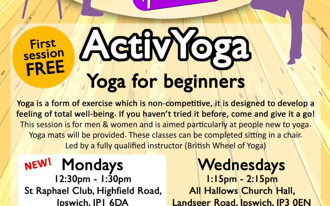 ActivYoga for Beginners/Improvers