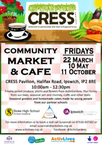 CRESS Harvest Festival Community Market @ CRESS Pavilion | England | United Kingdom