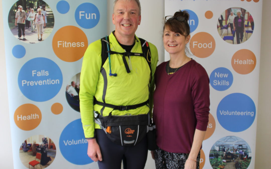 ActivLives Member to run non-stop from Hastings to Sproughton to celebrate his 60th birthday