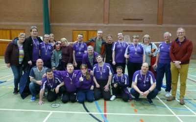 Suffolk amongst the medals in Special Olympics badminton