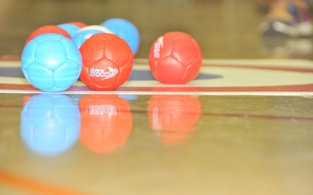 Suffolk Boccia players on their way to the National Games in Liverpool!
